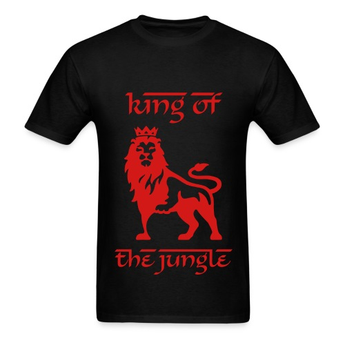 King of the Jungle T-Shirt - Men's T-Shirt