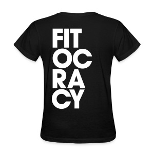 Fitocracy - Syllable - Women's Black RegularTee - Women's T-Shirt