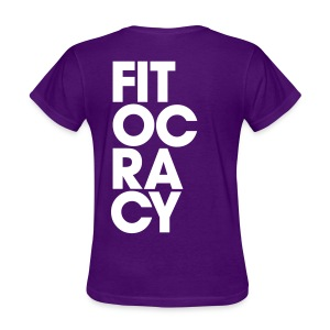 Fitocracy - Syllable - Women's Purple RegularTee - Women's T-Shirt