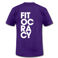 T-Shirts ~ Men's T-Shirt by American Apparel ~ Fitocracy - Syllable - Men's Purple Regular Tee