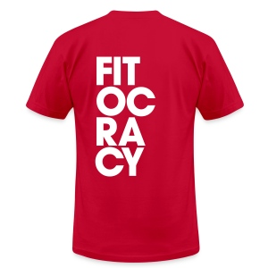 Fitocracy - Syllable - Men's Purple Regular Tee - Men's T-Shirt by American Apparel