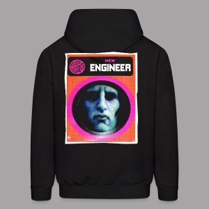 Engineer Costume Men's Halloween Hoodie - Men's Hoodie