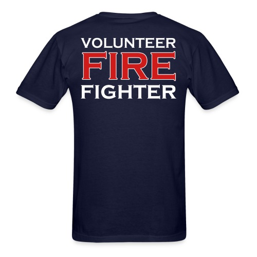 VOLUNTEER FIREFIGHTER 100% cotton - Men's T-Shirt