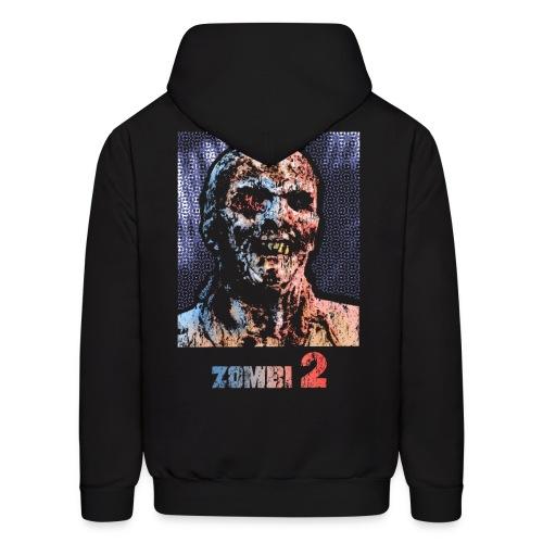 Zombie Men's Horror Hoodie - Men's Hoodie