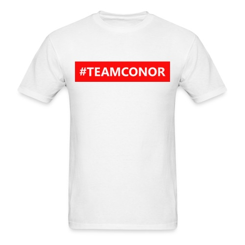 #TEAMCONOR T-shirt