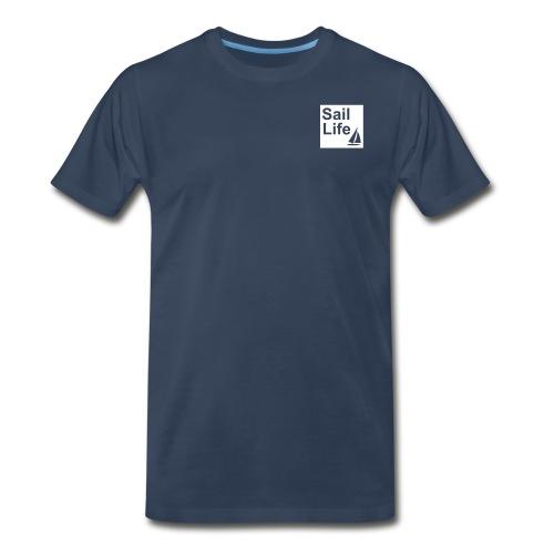 Sail Life t-shirt, dark blue - Men's Premium T-Shirt