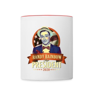 RR FOR PREZ MUG - Contrast Coffee Mug