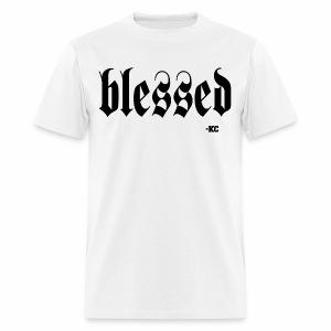 iam+Blessed - Men's T-Shirt