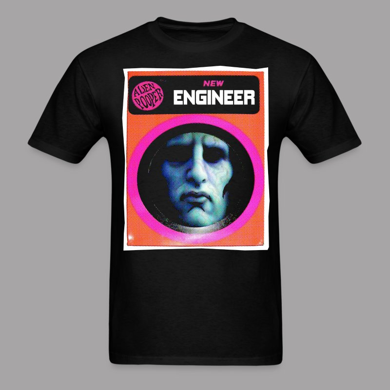 The Engineer Costume Men's Halloween T Shirt - Men's T-Shirt