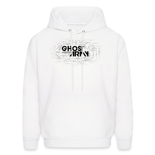 GhostArmy White Pullover Hoodie of awesomeness! - Men's Hoodie