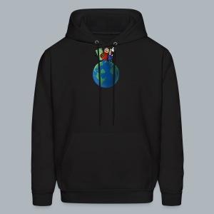 Earth Mens Hoodie - Men's Hoodie