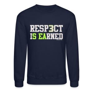 VICT Seattle Resp3ct Is Earned Sweatshirt - Crewneck Sweatshirt