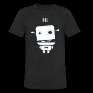 T-Shirts ~ Unisex Tri-Blend T-Shirt ~ Fitocracy - FRED Hi - Men's Black Vintage Tee