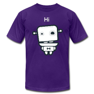 T-Shirts ~ Men's T-Shirt by American Apparel ~ Fitocracy - FRED Hi - Men's Purple Regular Tee
