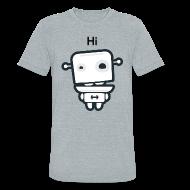 T-Shirts ~ Unisex Tri-Blend T-Shirt ~ Fitocracy - FRED Hi - Men's Gray Vintage Tee