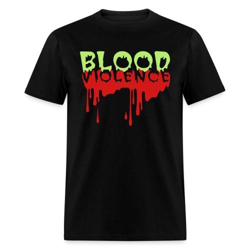 Blood Violence - Men's T-Shirt