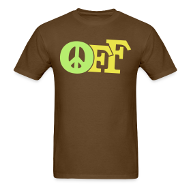 PEACE OFF (2 color customizeable!) ~ 351