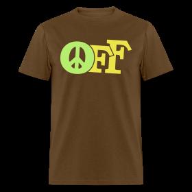 PEACE OFF (2 color customizeable!) ~ 351
