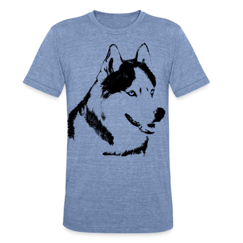 Husky T-shirts Siberian Husky Shirts & Gifts - Unisex Tri-Blend T-Shirt