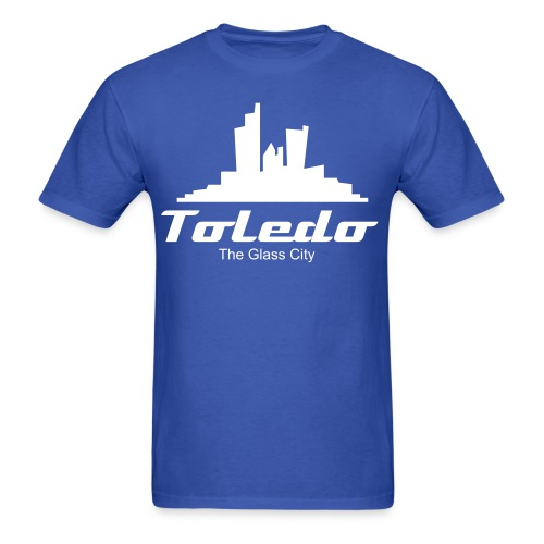 Toledo: The Glass City - Men's T-Shirt