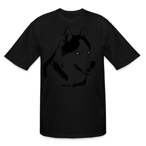 Husky Shirts Siberian Husky Malamute Shirts Tall - Men's Tall T-Shirt
