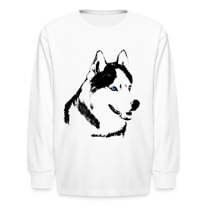 Kid's Husky Shirts Siberian Husky Shirts & Gifts - Kids' Long Sleeve T-Shirt