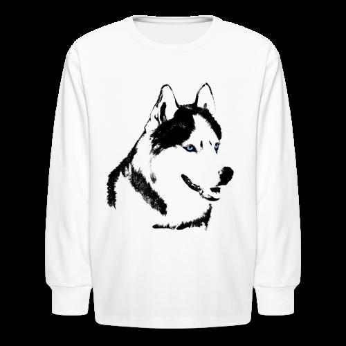 Kid's Husky Shirts Siberian Husky Shirts & Gifts - Kids' Long Sleeve T-Shirt