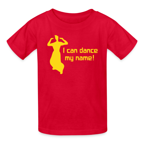 I can dance my name! - Kids' T-Shirt