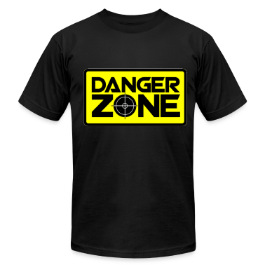 Danger Zone. T-Shirts