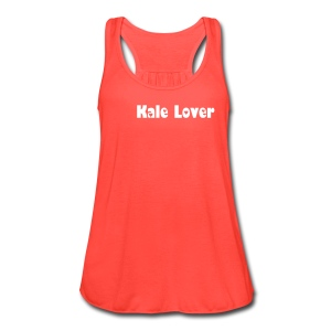 For the Kale Lover! - Women's Flowy Tank Top by Bella