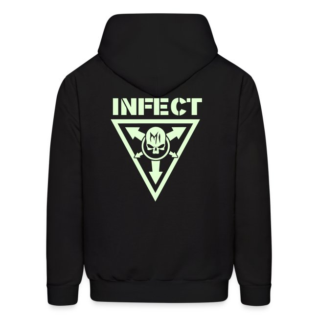 MISSION INFECT GLOW IN THE DARK HOODIE