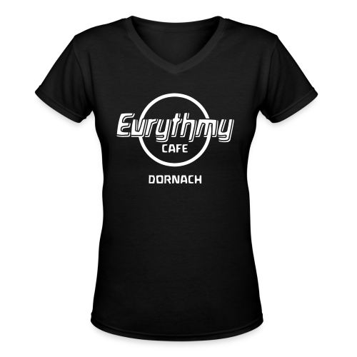 Eurythmy Cafe Dornach - Women's V-Neck T-Shirt