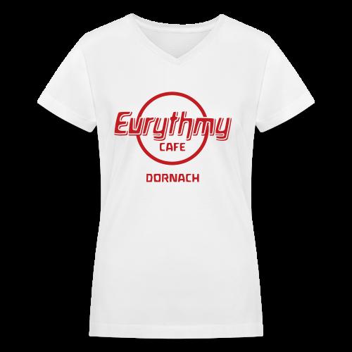 Eurythmy Cafe Dornach - Women's V-Neck T-Shirt