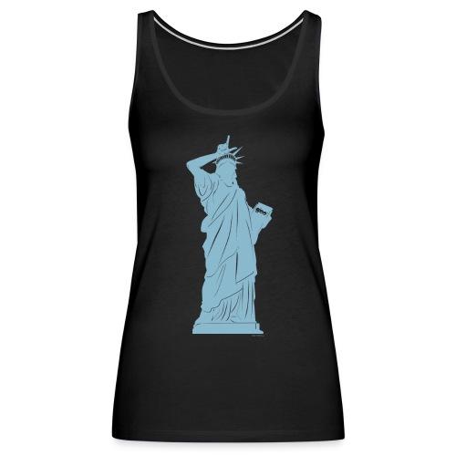 Glee Statue Of Liberty Gesture - Women's Premium Tank Top