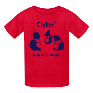 Chillin' With My Gnomies - Kids' T-Shirt