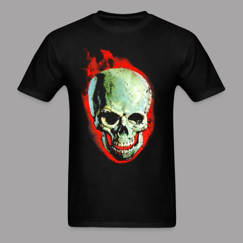 The Screaming Skull Men's Horror Movie T Shirt - Men's T-Shirt