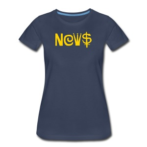 NEWS - Women's Premium T-Shirt