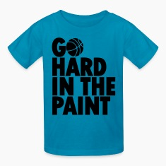 Go Hard In the Paint Kids' Shirts