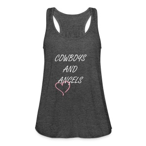 Cowboys and Angels Tank - Women's Flowy Tank Top by Bella