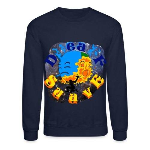 Atlas in Danger!!  - Crewneck Sweatshirt