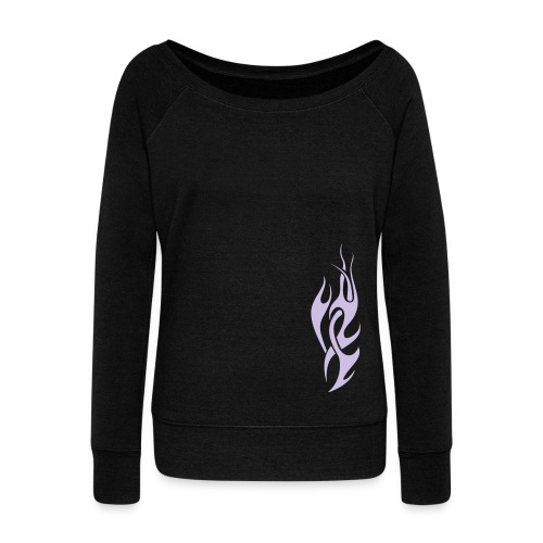 Fire and Desire - Women's Wideneck Sweatshirt