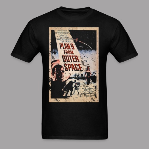 Plan 9 from outer space Ed Wood B Movie Horror Men's T Shirt - Men's T-Shirt