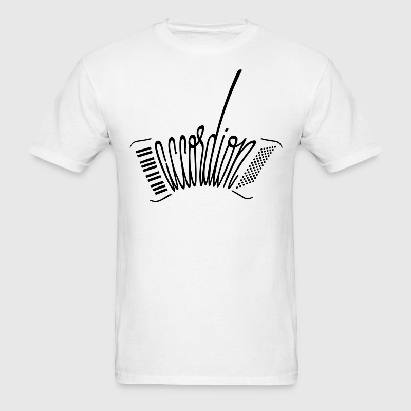 Accordion T-Shirts - Men's T-Shirt