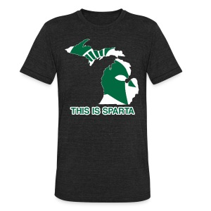 This Is Sparta T-Shirts - Unisex Tri-Blend T-Shirt by American Apparel