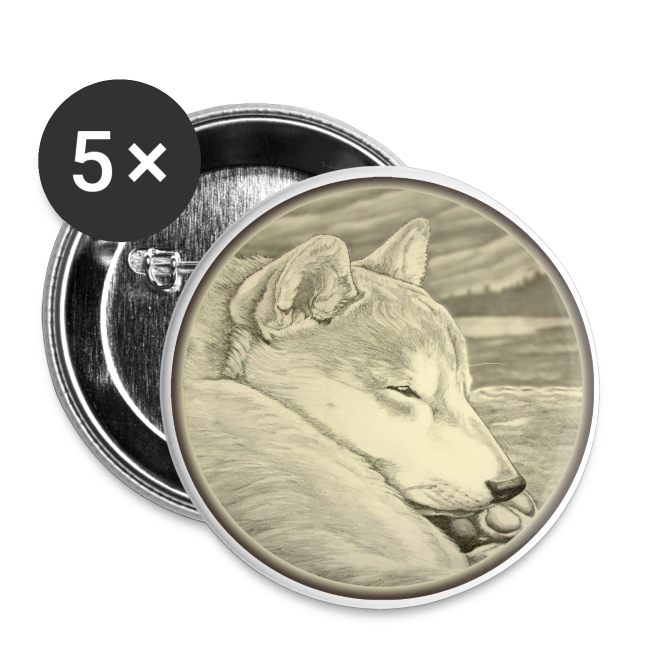 Shiba Inu Buttons Shiba Inu Art Gifts