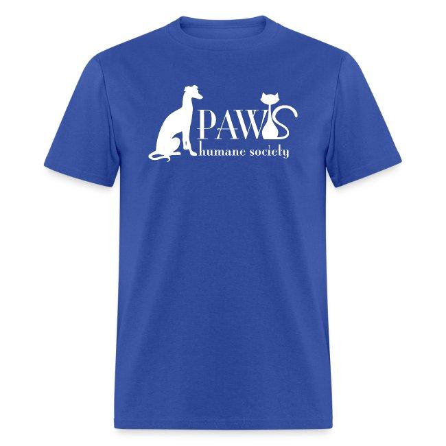 PAWS Logo White
