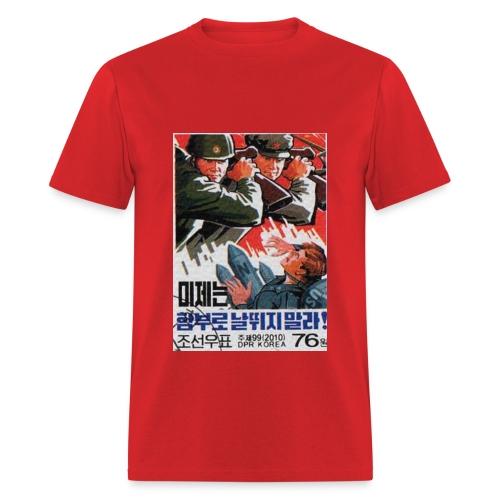DPRK vs USA - Men's T-Shirt