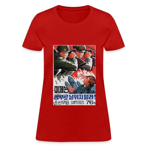DPRK vs USA - Women's T-Shirt