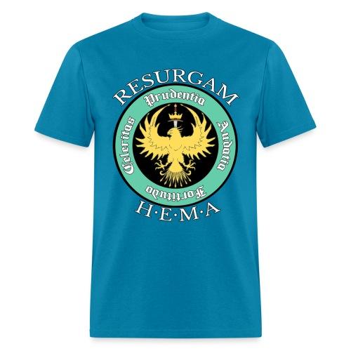 Resurgam HEMA Men's Tee - Turquoise - Men's T-Shirt