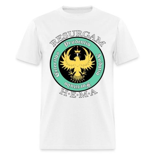 Resurgam HEMA Men's Tee - White - Men's T-Shirt